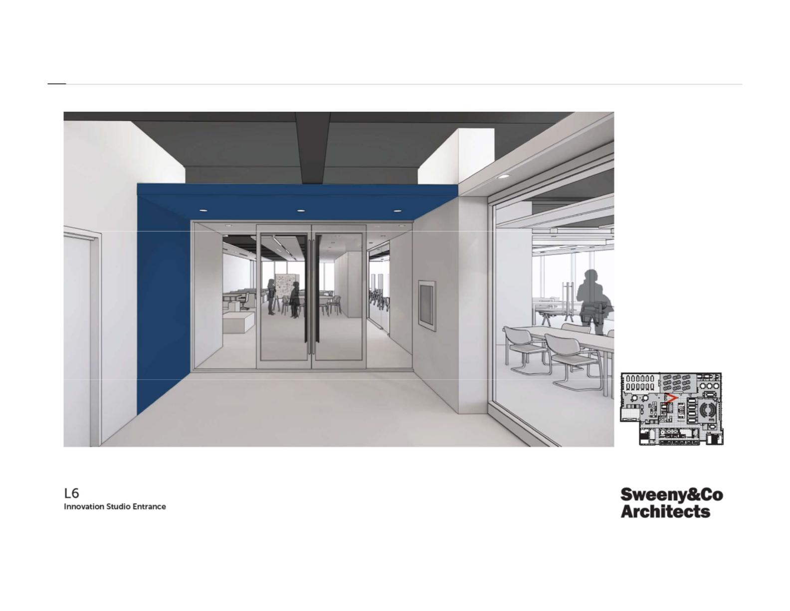 Innovation Studio Entrance